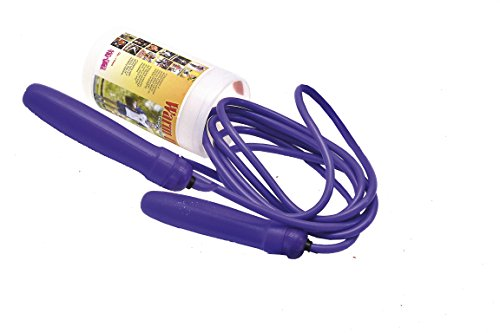 Rope WARM UP SKIPPING ROPE ADJUSTABLE MULTICOLOR