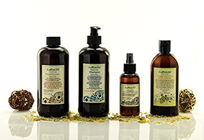 Renewal Hair And Scalp Nutrition Kit | Hair Loss Shampoo | Hair Loss Conditioner | Vinegar Nutritive Rinse Cleanser | Alopecia Hair Loss Treatment | The Best Renewal Hair Kit for Your Scalp