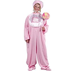 Be My Baby Jammies Plus (Pink) Adult Costume - Plus - Adult Costumes