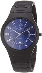 Skagen Herren-Armbanduhr Analog Quarz Keramik 817LBXNC