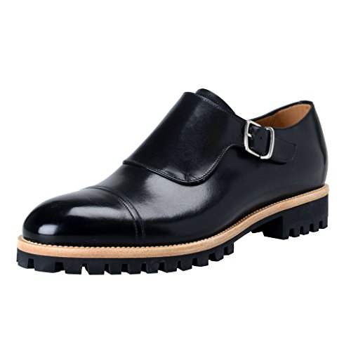 bally-switzerland-mens-black-leather-loafers-slip-on-shoes-us-7-it-6-eu-40