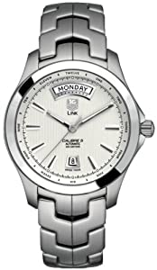 TAG Heuer Men's WJF2011.BA0592 Link Calibre 5 Day-Date Automatic Watch