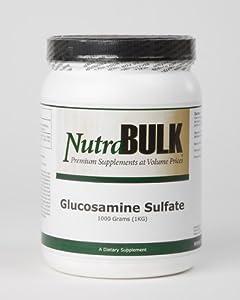NutraBulk Glucosamine Sulfate Powder 1 Kilogram