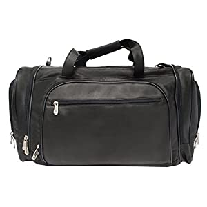 Piel Leather Multi-Compartment Duffel Bag from Piel Leather