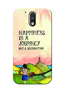 Sowing Happiness Printed Back Cover For Motorola Moto G4:: Moto G4 Plus (4th Generation)