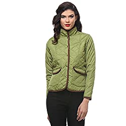 PURYS Buttoned Quilted Jacket