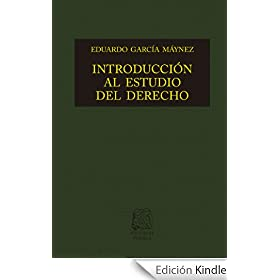 Introduccion al estudio del derecho eduardo garcia maynez