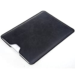 Bear Motion iPad Air Sleeve Case - Premium Slim Sleeve Case Cover for iPad Air & iPad Air 2 (Without any other case on) - Black