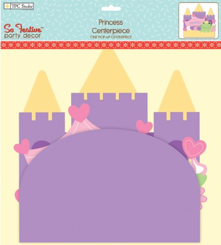 Pop-Up Centerpiece 1/Pkg - Princess