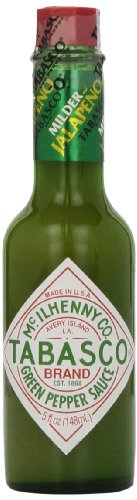 Tabasco Milder Green Pepper Sauce, 5 Ounce (Tabasco Jalapeno Sauce compare prices)