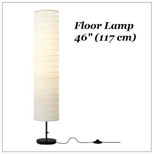 "Ikea Floor Lamp 46"" Contemporary Style Modern Soft Lighting Holmo White New (Ikea Holmo Lamp) Ikea Floor Lamp Contemporary Style Modern Soft Lighting Holmo White Light Bulbs Are Sold Separately. Ikea Recommends Ledare Led Bulb E26 400 Lumen. Product Dimen"