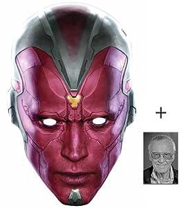 avengers mask template - mask pack vision marvel avengers age of ultron single