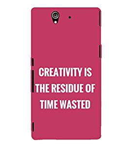 EPICCASE innovation Mobile Back Case Cover For Sony Xperia Z (Designer Case)