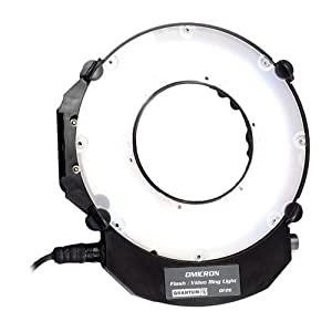 Quantum Instruments Omicron 3 LED Ringlight for Still & Video
