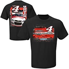 Kevin Harvick Budweiser #4 Nascar Checkered Flag Break Out T-Shirt Adult Large by Checkered Flag