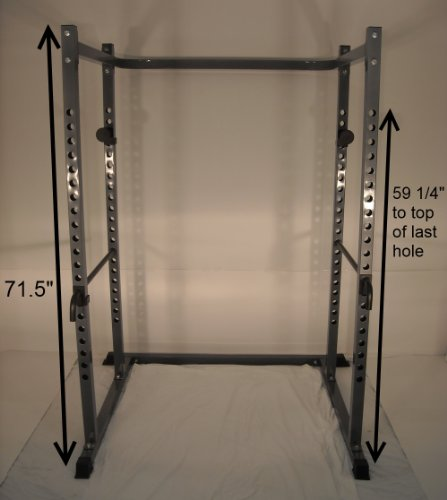 Short Power Rack For Low 6' Ceilings Squat Cage Squatting Stand