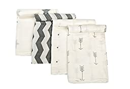 ONGLYP Baby Swaddle Blankets 100% Muslin Cotton Nursing Cover Gift for New Mom 48\