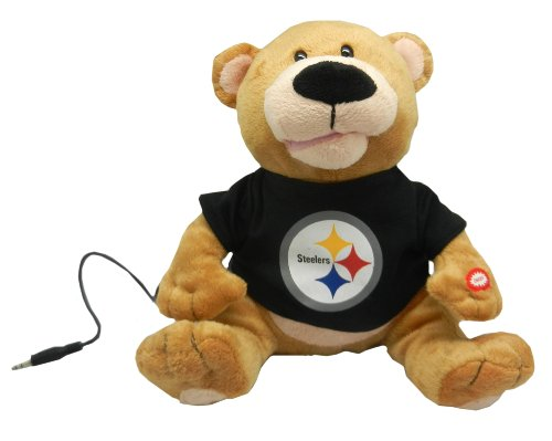 Pittsburgh Steelers Party Teddy Bear Loud Mouth