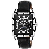 [エドックス]EDOX 腕時計 クラスロイヤルトリプルカレンダー ブラック文字盤 ステンレスケース カーフ革ベルト 自動巻 90003-357N-NIN メンズ 【並行輸入品】