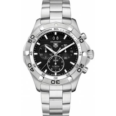 Tag Heuer Aquaracer Grande Date Black Dial Men's Watch CAF101E.BA0821