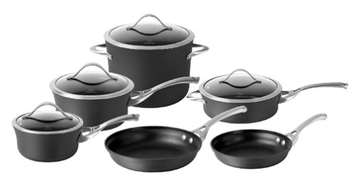 calphalon nonstick 10piece cookware set