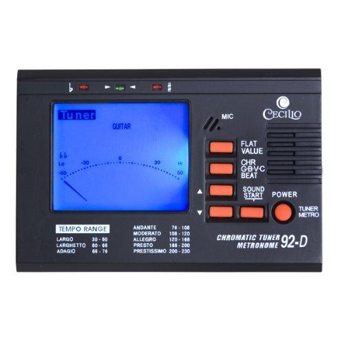 Cecilio 92-D Chromatic/String Tuner  Metronome