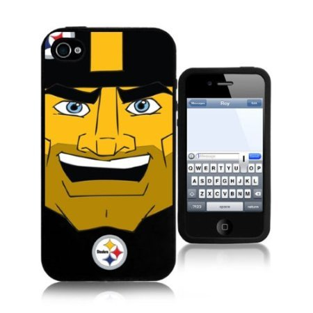 NFL Pittsburgh Steelers Mascot Logo Iphone Protective Hard Case at Amazon.com