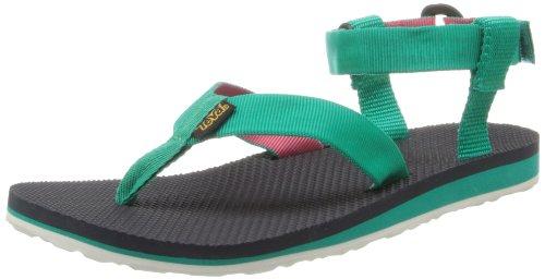 Teva Women's Original Sandal,Teal/Coral,9 M US