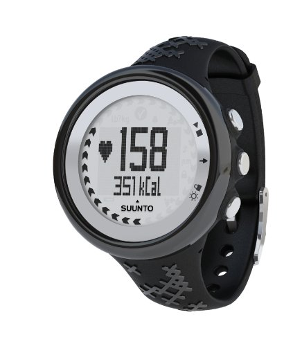 Suunto M5 Women's Heart Rate Monitor and Fitness Training Watch (Black/Silver)