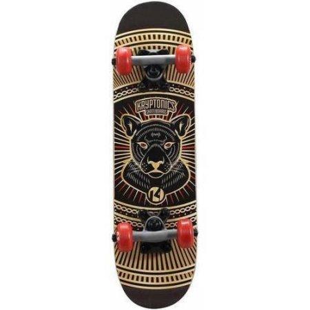 Kryptonics Locker Board Complete Skateboard, 22