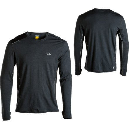 Icebreaker Men's Long Sleeve Ace Crewe Top