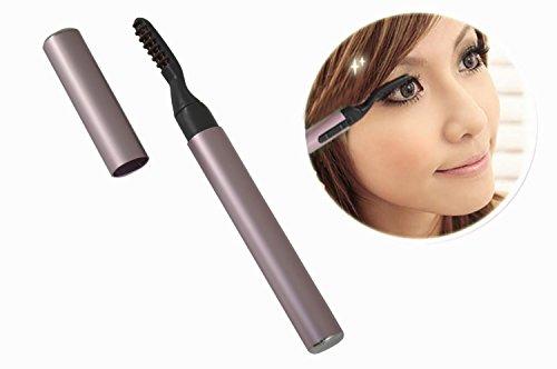 Novelty Mini Portable Beauty Tool Product Eye Lashes Perm Kit Pen Style Electric Heated Eyelash Curler