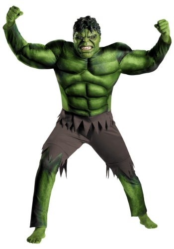 Disguise Marvel's Avengers Movie Hulk Avengers Classic Muscle Adult Costume