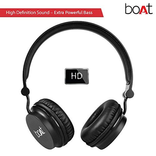 boat rockerz 400 on ear bluetooth headphones price. Black Bedroom Furniture Sets. Home Design Ideas