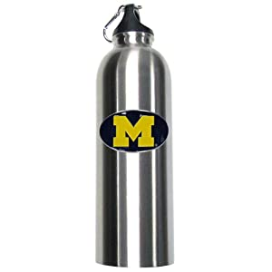 NCAA Michigan Wolverines Water Thermos by Siskiyou Sports