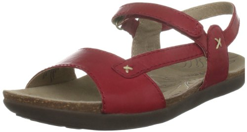 Hush Puppies Women's Santana Red Ankle Wrap H2658707A
