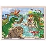 Melissa & Doug Dinosaur Jigsaw Puzzle (48-Piece)