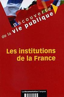 Les institutions de la France par Arkwright