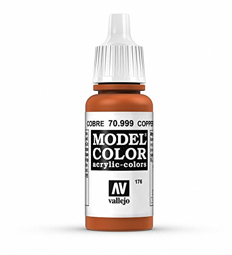 Vallejo Copper Model Color Paint, 17ml