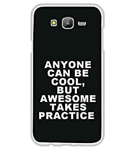 Attitude Quote 2D Hard Polycarbonate Designer Back Case Cover for Samsung Galaxy J7 J700F (2015 OLD MODEL) :: Samsung Galaxy J7 Duos :: Samsung Galaxy J7 J700M J700H