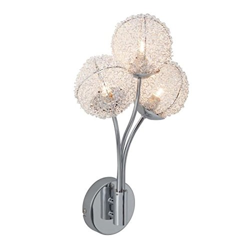 BRILLIANT- Applique -Bellis - Chrome/Verre/Alu