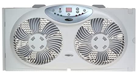 Bionaire BW2300 Twin Window Fan with Remote Control $43.99