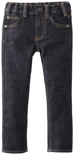 Dc Apparel - Kids Little Boys' Dc Slim Kd Denim, Indigo Rinse, 7X/X-Large
