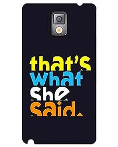 Webplaza Designer Hard Case Printed For Samsung galaxy Note 3