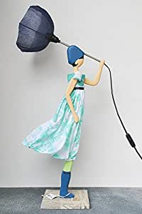 thaliatrendige tischlampe design skitso leuchte deko dekofigur lampe figur m licht 85cm. Black Bedroom Furniture Sets. Home Design Ideas