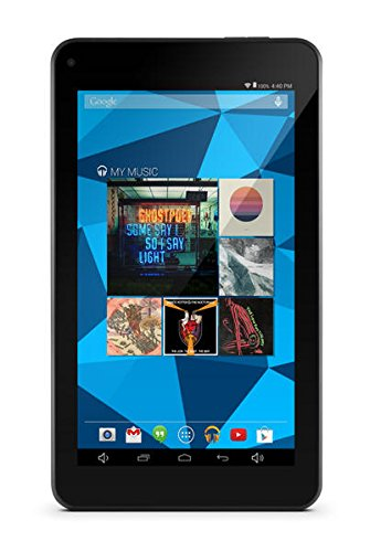Ematic EGD172PN Dual-Core with Android 4.4, Kit Kat and Google Play 7-Inch 8 GB Tablet