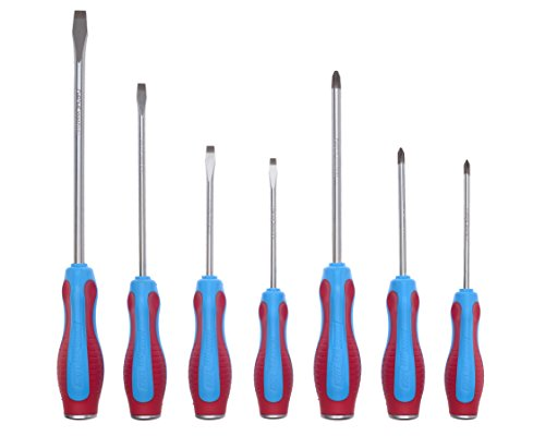 channellock sd 7cb code blue screwdrivers 7 piece set s144cb s146cb s364c. Black Bedroom Furniture Sets. Home Design Ideas