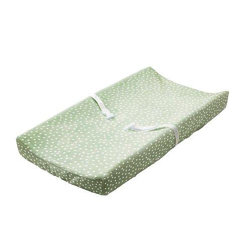 Babiesrus Plush Changing Pad Cover Sage front-665663
