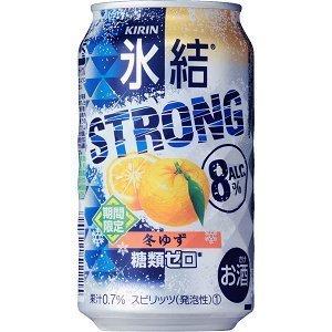 キリン氷結ストロング冬ゆず 350ml×12缶