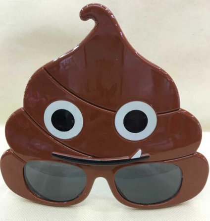 LLTrader-Emoji-Poop-Sunglasses-Party-Favor-Christmas-Day-Emotoin-Poo-Party-Sunglasses